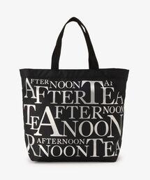 エコバッグ バッグ スリットポケット付きロゴバッグ/Afternoon Tea 40th ANNIVERSARY|ZOZOTOWN PayPayモール店