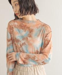 tシャツ Tシャツ タイダイプリントチュールトップス|ZOZOTOWN PayPayモール店