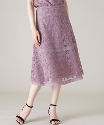 スカート 《Maglie WHITE》トルコレースフレアスカート ZOZOTOWN PayPayモール店