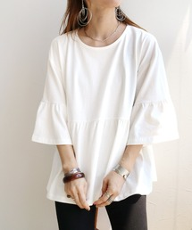 tシャツ Tシャツ ギャザーフレアカットソー|ZOZOTOWN PayPayモール店