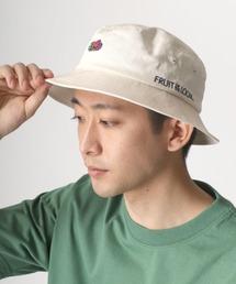 帽子 ハット FRUIT OF THE LOOM/フルーツオブザルーム ワンポイント 刺繍 バケットハット ZOZOTOWN PayPayモール店
