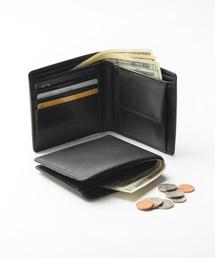 財布 牛本革レザー 隠しポケット付 スリム 二つ折り財布|ZOZOTOWN PayPayモール店