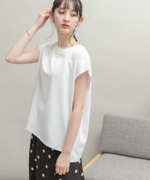 tシャツ Tシャツ UR Lab. ICESUMMER フレンチスリーブタックTシャツ|ZOZOTOWN PayPayモール店
