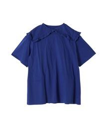 tシャツ Tシャツ フリルセーラーカラーティアードトップス|ZOZOTOWN PayPayモール店