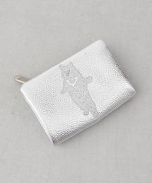 財布 クマ刺繍折り財布|ZOZOTOWN PayPayモール店