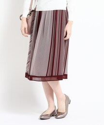 スカート 【WEB限定カラーあり】ミックスプリントスカート|ZOZOTOWN PayPayモール店