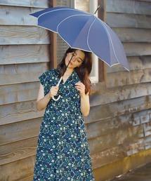 傘 【遮光/晴雨兼用】バイカラーパイピング 長傘|ZOZOTOWN PayPayモール店