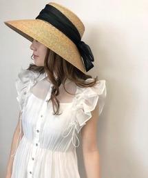 帽子 ハット Organdy Ribbon Capellin hat|ZOZOTOWN PayPayモール店