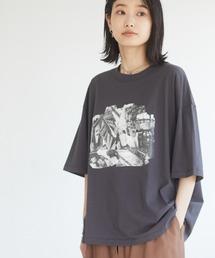 tシャツ Tシャツ ブロカントプリントTシャツ *|ZOZOTOWN PayPayモール店