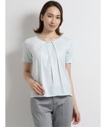 tシャツ Tシャツ エムエフエディトリアルレディース/m.f.editorial:Women タックビジュー クルーネック半袖プルオーバー|ZOZOTOWN PayPayモール店