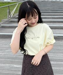 tシャツ Tシャツ WEARISTA haru - オーバーサイズロゴTシャツ  made in INTER FACTORY ZOZOTOWN PayPayモール店