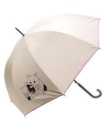 傘 完全遮光晴雨兼用 ジャンプ傘 仲良し猫柄 ZOZOTOWN PayPayモール店