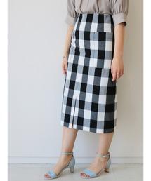 スカート ブロックギンガムスカート ZOZOTOWN PayPayモール店