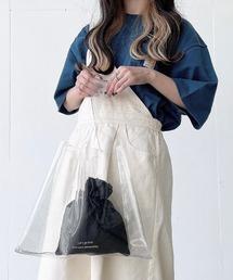 バッグ ハンドバッグ ファッションインフルエンサー017 - ロゴクリアバッグ made in INTER FACTORY ZOZOTOWN PayPayモール店