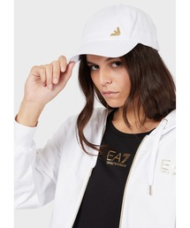 帽子 キャップ 【エンポリオ アルマーニ EA7】TRAIN EVOLUTION ゴールドチャーム ベースボールキャップ|ZOZOTOWN PayPayモール店