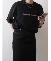 tシャツ Tシャツ Big sized logo TEE / ビッグサイズロゴT(mi select)|ZOZOTOWN PayPayモール店
