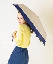 折りたたみ傘 完全遮光晴雨兼用 makez.マケズ 折りたたみ傘 3色切替 ZOZOTOWN PayPayモール店