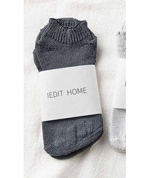 靴下 IEDIT 隠れ5本指のさらさら気持ちいい和紙混靴下|ZOZOTOWN PayPayモール店