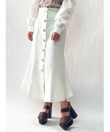 スカート フロントボタンデニムマーメイドスカート|ZOZOTOWN PayPayモール店