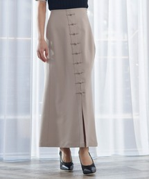 スカート チャイナボタンスリットロングスカート ZOZOTOWN PayPayモール店