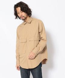 シャツ ブラウス HAVERSACK(ハバーサック)サイドジップシャツ|ZOZOTOWN PayPayモール店