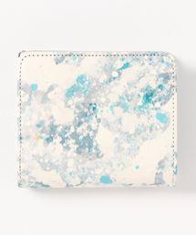 財布 誰かの為の青 Lファスナー2つ折り財布|ZOZOTOWN PayPayモール店