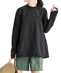 ラッシュガード IEDIT 福田麻琴さんコラボ 大人のラッシュガードトップス〈ブラック〉|ZOZOTOWN PayPayモール店