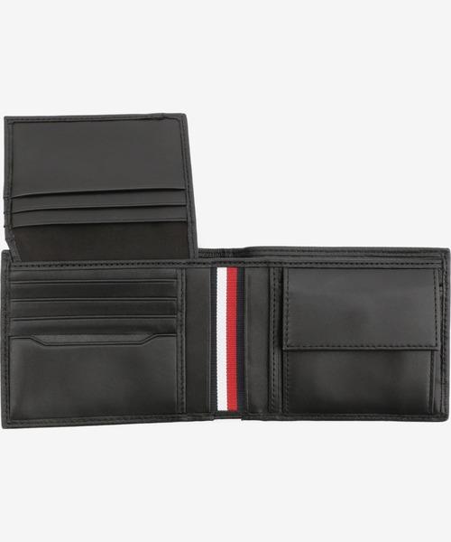 大人の男が選ぶおしゃれなメンズ財布ブランド トミー・ヒルフィガー フラッグラインレザーウォレット