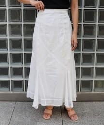 スカート エンブロイダリーレーススカート|ZOZOTOWN PayPayモール店