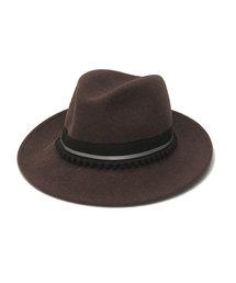 帽子 ハット 【mtm】グログラン×ポンポンハット|ZOZOTOWN PayPayモール店