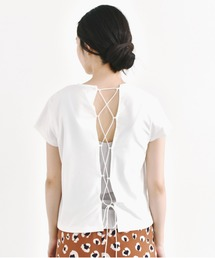 tシャツ Tシャツ レースアップカットソー / Yawn|ZOZOTOWN PayPayモール店