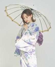 傘 【雨晴兼用傘(RAIN&UV)】ペインタリーフラワー 長傘|ZOZOTOWN PayPayモール店