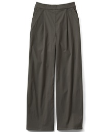 パンツ IEDIT ぐいっとしなやか美脚もかなう ストレッチ素材のエアノビワイドパンツ|ZOZOTOWN PayPayモール店