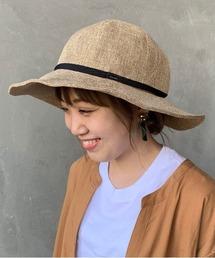 帽子 ハット [ORCIVAL/オーシバル] ラフィア風つば広ハット|ZOZOTOWN PayPayモール店