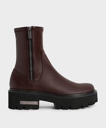 ブーツ サイドジップ アンクルブーツ / Side-Zip Ankle Boots|ZOZOTOWN PayPayモール店