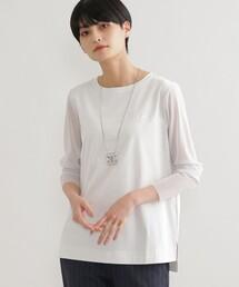 tシャツ Tシャツ 【ウォッシャブル】メッシュコンビカットソー ZOZOTOWN PayPayモール店