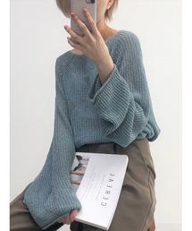 ニット Loose summer knit / ルーズサマーニット (松尾瞳 select)|ZOZOTOWN PayPayモール店