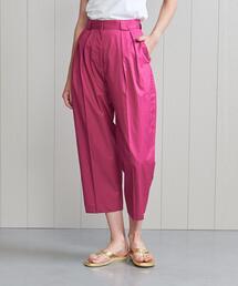 パンツ <H>COTTON TUCK CROPPED PANTS/パンツ|ZOZOTOWN PayPayモール店