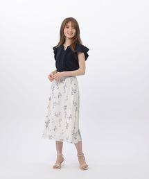 スカート フラワープリントスカート|ZOZOTOWN PayPayモール店