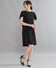 ドレス AULI 袖フリルワンピース【OC】|ZOZOTOWN PayPayモール店