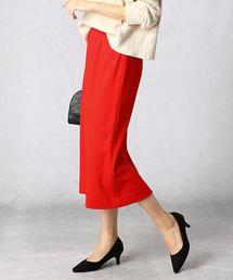 スカート 圧縮ウールジャージータイトスカート ZOZOTOWN PayPayモール店