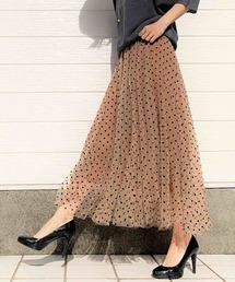 スカート ドットチュールスカート|ZOZOTOWN PayPayモール店