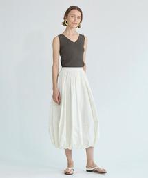 スカート ESTNATION / ナイロンタフタバルーンスカート|ZOZOTOWN PayPayモール店