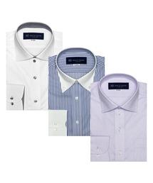 【WEB限定】形態安定ノーアイロン長袖ビジネスワイシャツ 3枚セット|ZOZOTOWN PayPayモール店