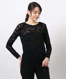 tシャツ Tシャツ 【BEATRICE】総レースカットソー ZOZOTOWN PayPayモール店