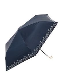 折りたたみ傘 【晴雨兼用傘】 PUフラワーヒートカット ミニ 折りたたみ 日傘|ZOZOTOWN PayPayモール店