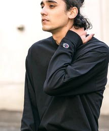 tシャツ Tシャツ 【Champion Authentic T-SHIRTS】刺繍ロゴワッペン ルーズベーシックロンT ZOZOTOWN PayPayモール店