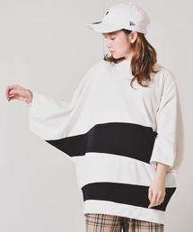 tシャツ Tシャツ ビッグシルエット ポンチドルマン切り替えTシャツ|ZOZOTOWN PayPayモール店