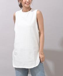 tシャツ Tシャツ ラウンドヘムノースリーブTee|ZOZOTOWN PayPayモール店
