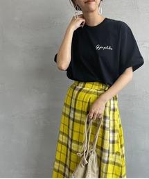 tシャツ Tシャツ [GYMPHLEX/ジムフレックス] ロゴ刺繍Tシャツ ZOZOTOWN PayPayモール店